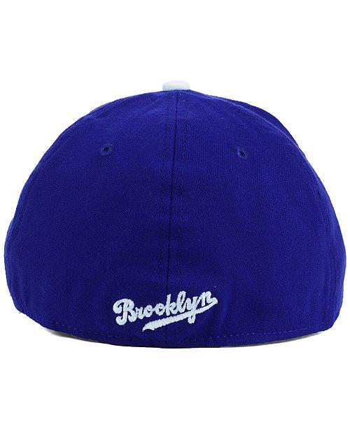 New Era Brooklyn Dodgers Core Classic 39THIRTY Cap - Sports Fan Shop ... c87d4f28b909