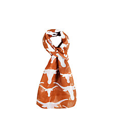 Forever Collectibles Texas Longhorns All Over Logo Infinity Scarf