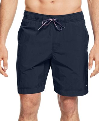 Own the beach look in our men's swim shorts available in a diverse range of floral prints, nautical hues. Hit the waters in the latest swimwear styles for men with shorts and swimming trunks that make up your holiday staple wardrobe.