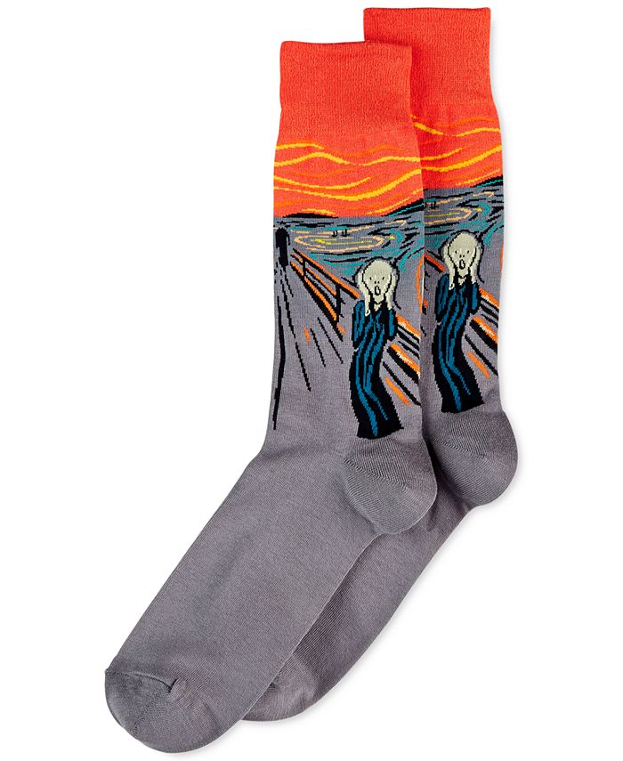 Hot Sox - Men's The Scream Socks