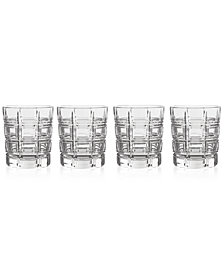 Marquis By Waterford Crosby Double Old Fashioned Glasses, Set of 4