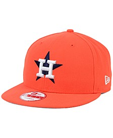 Houston Astros 2 Tone Link 9FIFTY Snapback Cap