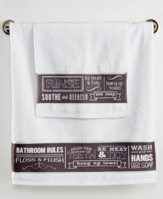Chalk It Up Hand Towel