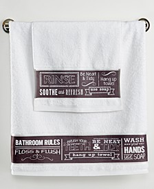 Chalk It Up Hand Towel