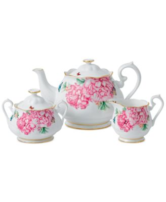 Miranda Kerr for Friendship Teapot, Sugar & Creamer