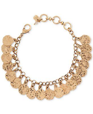 Lucky brand shaky coin bracelet jewelry watches macy 39 s for Macy s lucky brand jewelry