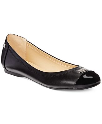 coach outlet online official website i5wj  COACH Chelsea Flats