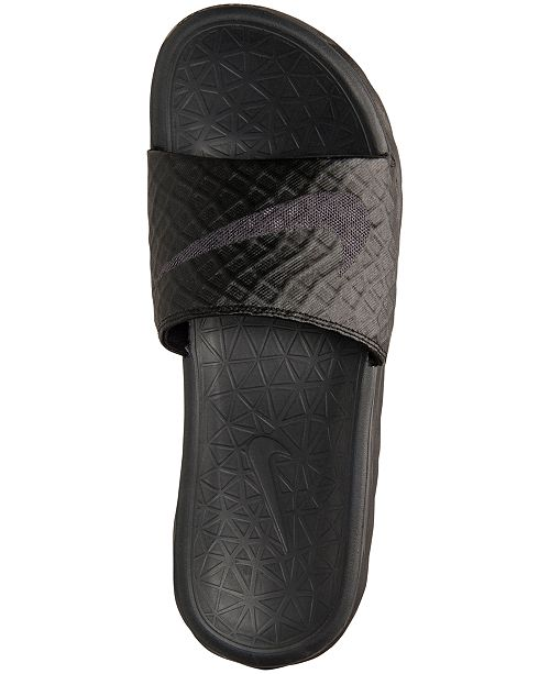 d6a2cd28a858 Nike Men s Benassi Solarsoft Slide 2 Sandals from Finish Line ...