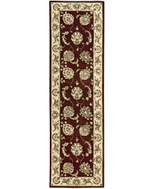 "Wool and Silk 2000 2022 Lacquer 2'6"" x 12' Runner Rug"