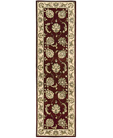 "Nourison Area Rug, Wool & Silk 2000 2022 Lacquer 2'6""x12' Runner Rug"