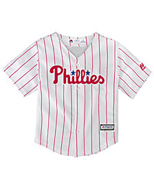 Majestic Toddlers' Philadelphia Phillies Replica Jersey