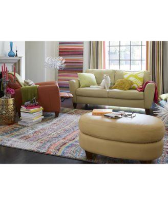 Charmant Furniture Almafi Leather Sofa Living Room Furniture Collection   Furniture    Macyu0027s