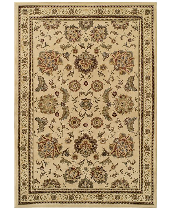 """Dalyn CLOSEOUT! St. Charles WB787 Ivory 5'1"""" x 7'5"""" Area Rug"""