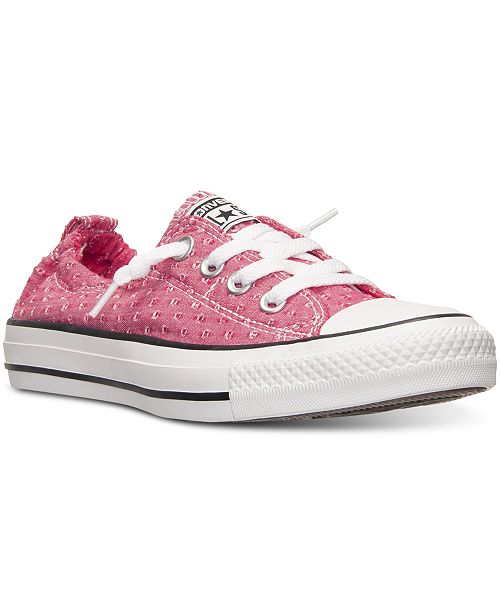 3f0f63f84039 ... Converse Women s Chuck Taylor Shoreline Perforated Casual Sneakers from  Finish ...