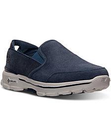 Skechers Men's GOwalk 3 Suede Walking Sneakers from Finish Line