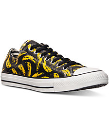 Converse Men's Chuck Taylor Ox Warhol Casual Sneakers from Finish Line