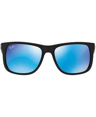 Ray Ban Sunglasses Rb4165 Justin Mirror Sunglasses By Sunglass