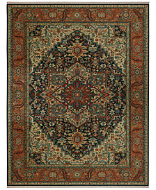 "Karastan Sovereign Maharajah Navy 5'9"" x 9' Area Rug"