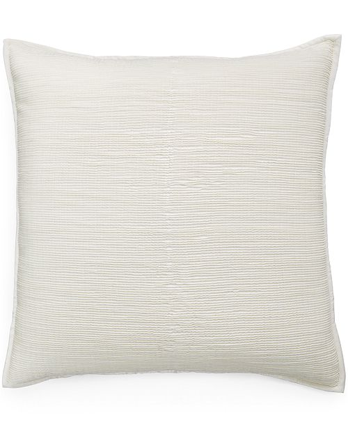 Hotel Collection CLOSEOUT! Woven Texture European Sham