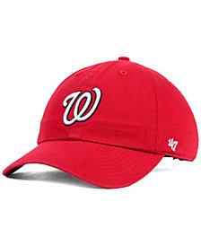 '47 Brand Kids' Washington Nationals Clean Up Cap