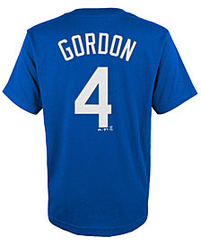 Majestic Kids' Alex Gordon Kansas City Royals Player T-Shirt
