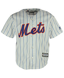 Majestic MLB Cool Base Jersey, Little Boys (4-7)