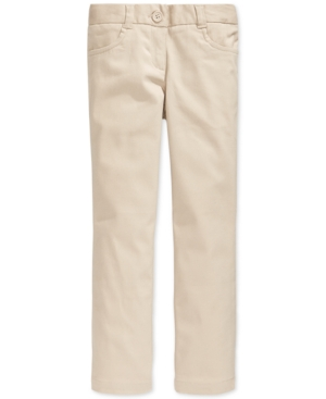 Nautica School Uniform Stretch Bootcut Pants Big Girls
