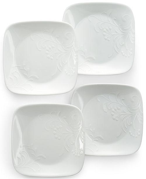 Corelle Boutique Cherish  Set of 4 Appetizer Plates