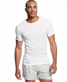 Lacoste Men's 3 Pack Crew-Neck Undershirts