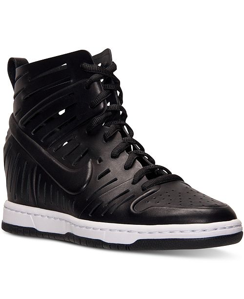 finest selection 53424 7c054 ... Nike Women s Dunk Sky Hi Joli Casual Sneakers from Finish ...
