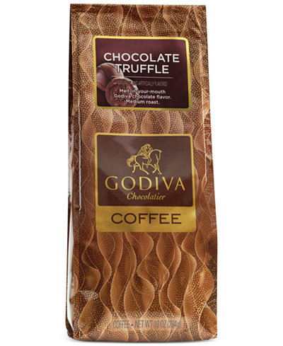 Godiva Coffee, 10-oz. Chocolate Truffle Flavored Coffee