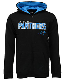 OuterstuffCarolina Panthers Stated Full-Zip Hoodie