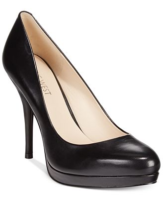 Nine West Kristal Platform Pumps - Pumps - Shoes - Macy's