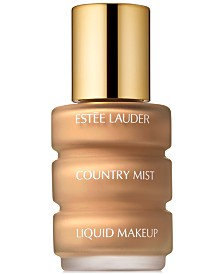 Estée Lauder Country Mist Liquid Makeup Foundation, 1 oz