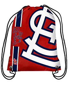 Forever Collectibles St. Louis Cardinals Big Logo Drawstring Bag