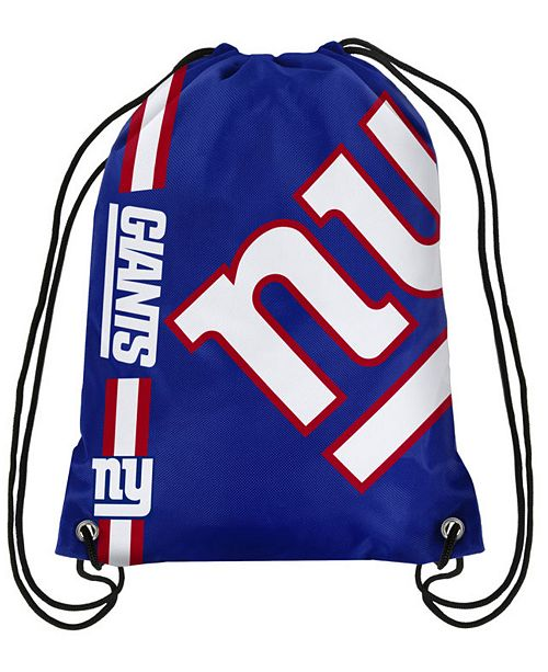 Forever Collectibles New York Giants Big Logo Drawstring Bag