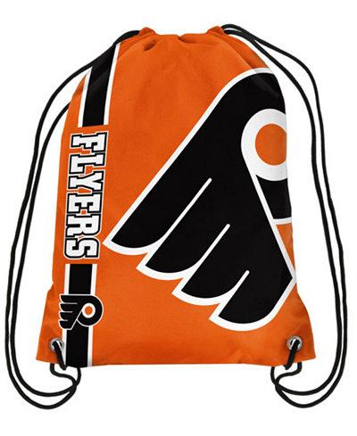 Forever Collectibles Philadelphia Flyers Big Logo Drawstring Bag