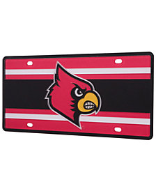 Stockdale Louisville Cardinals Super Stripe License Plate