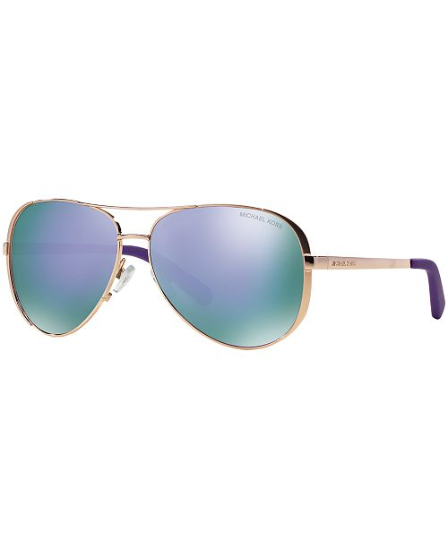 d10cee0bdb65 Michael Kors CHELSEA Sunglasses, MK5004 & Reviews - Sunglasses by ...