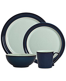 Dinnerware Peveril Collection Stoneware 4-Piece  Place Setting
