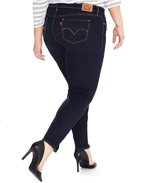7e509383e4b Levi's Plus Size 311 Shaping Skinny Jeans & Reviews - Jeans - Plus ...