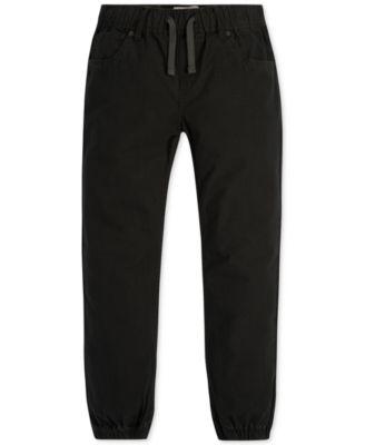 Enfants Pantalon Noir De Jogging
