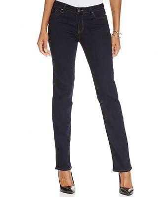 Calvin Klein Jeans Straight-Leg Jeans - Jeans - Women - Macy's