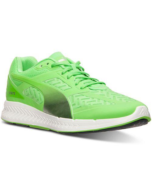 Puma Men's Ignite Powercool Running Sneakers from Finish Line