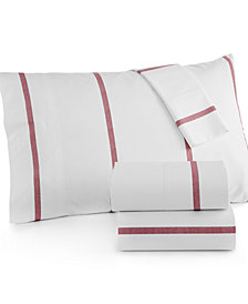 CLOSEOUT! Tommy Hilfiger Ellis Island King Sheet Set