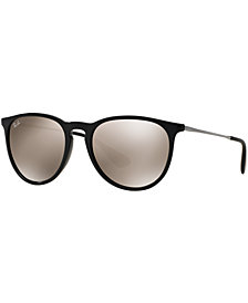 Ray-Ban ERIKA MIRRORED Sunglasses, RB4171 54