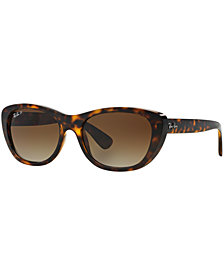 Ray-Ban Polarized Sunglasses, RB4227 55
