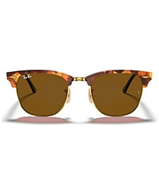 Sunglasses, RB3016 CLUBMASTER FLECK