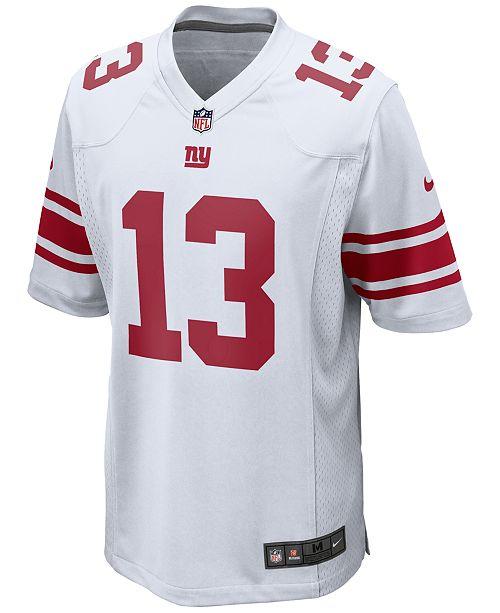 detailed look b04d9 837be Nike Men's Odell Beckham Jr. New York Giants Game Jersey ...