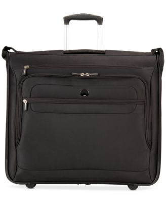 Image of CLOSEOUT! Delsey Helium Fusion Rolling Garment Bag, Only at Macy's